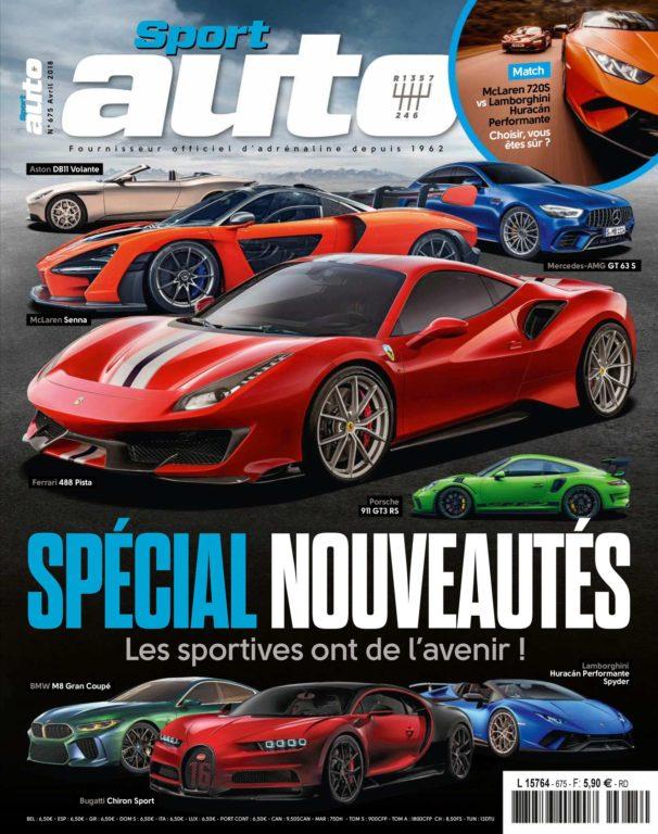 Sport Auto France – Avril 2018