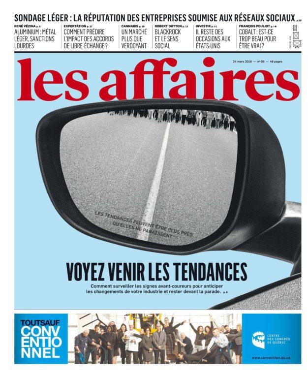 Les Affaires – 24 Mars 2018