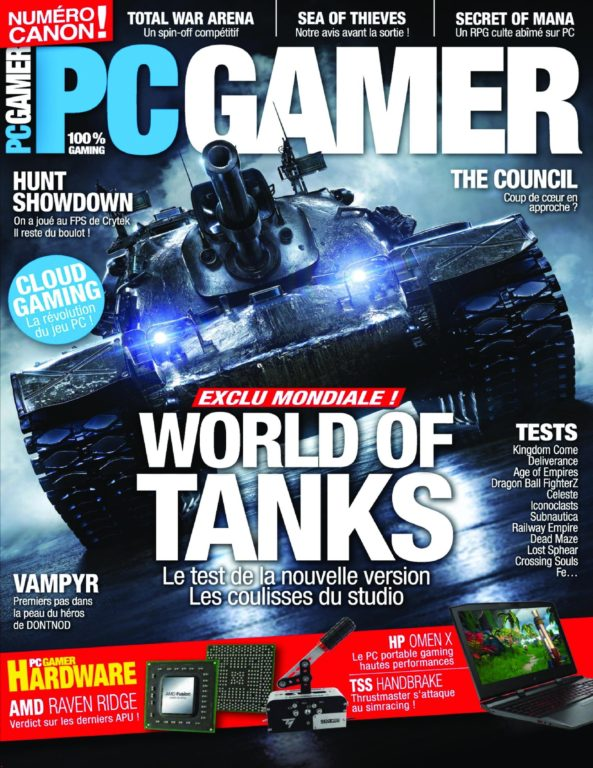 PC Gamer – 02 Mars 2018