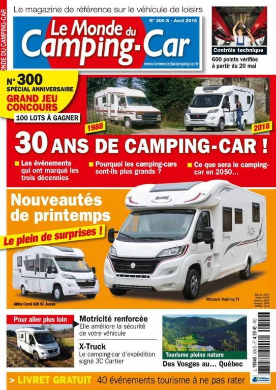 Le Monde Du Camping-Car – 01.04.2018