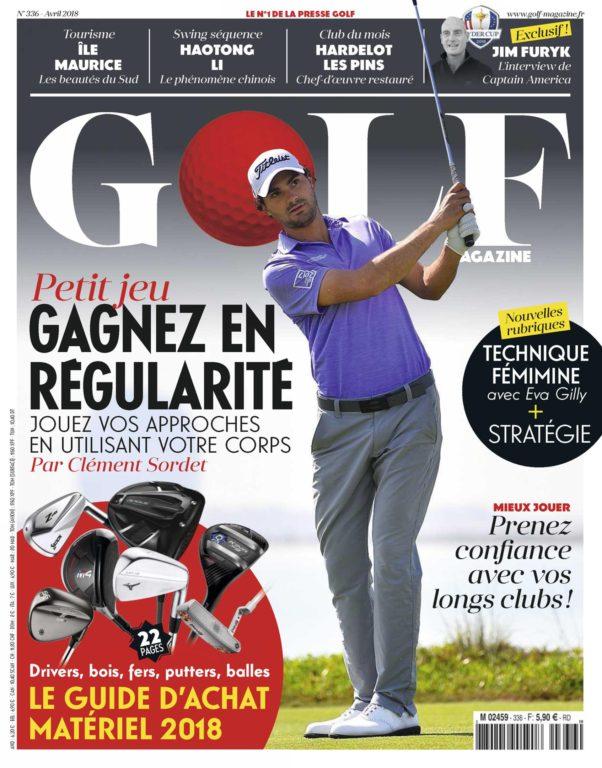 Golf Magazine France – Mars 2018