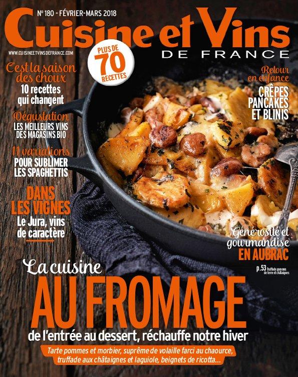Cuisine Et Vins De France – Fevrier 2018