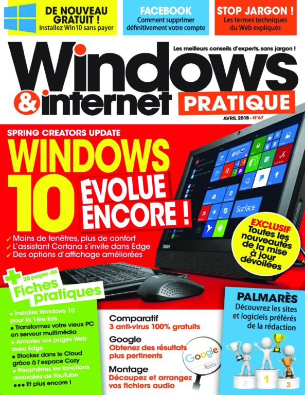 Windows & Internet Pratique – Avril 2018