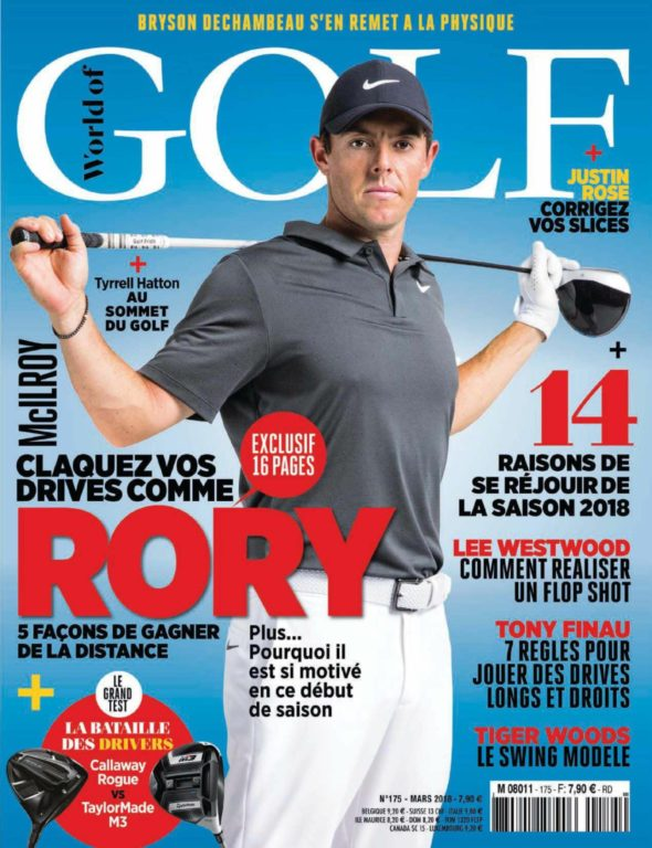 World Of Golf France – Mars 2018