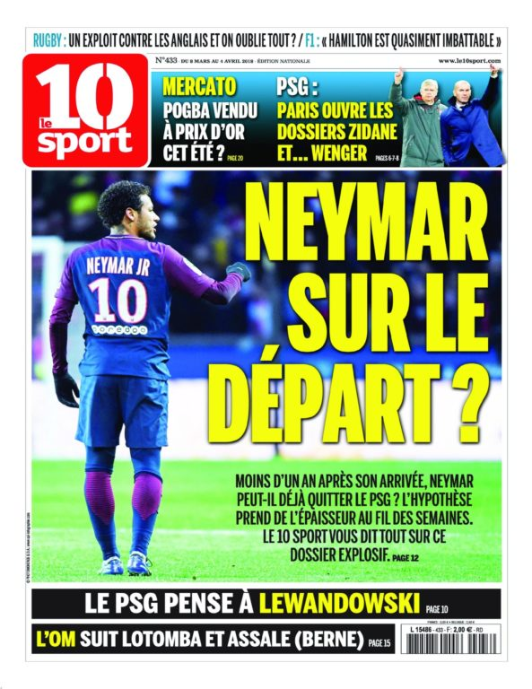 Le 10 Sport National – 05 Mars 2018