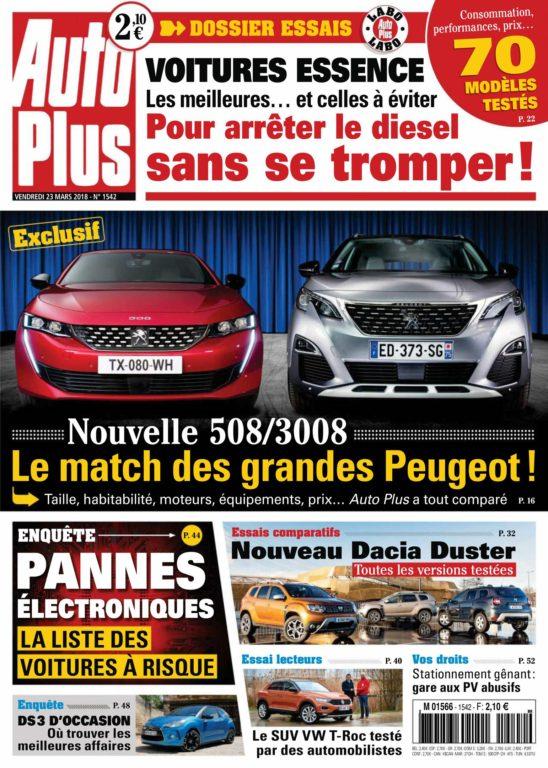 Auto Plus France – 23 Mars 2018