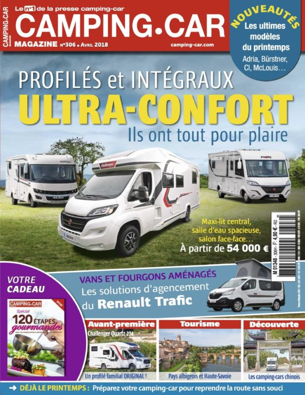Camping-Car Magazine – Mars 2018