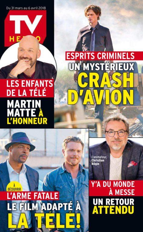 TV Hebdo – 31 Mars 2018