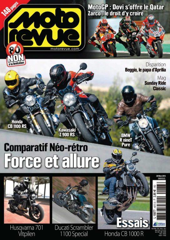 Moto Revue – 28 Mars 2018