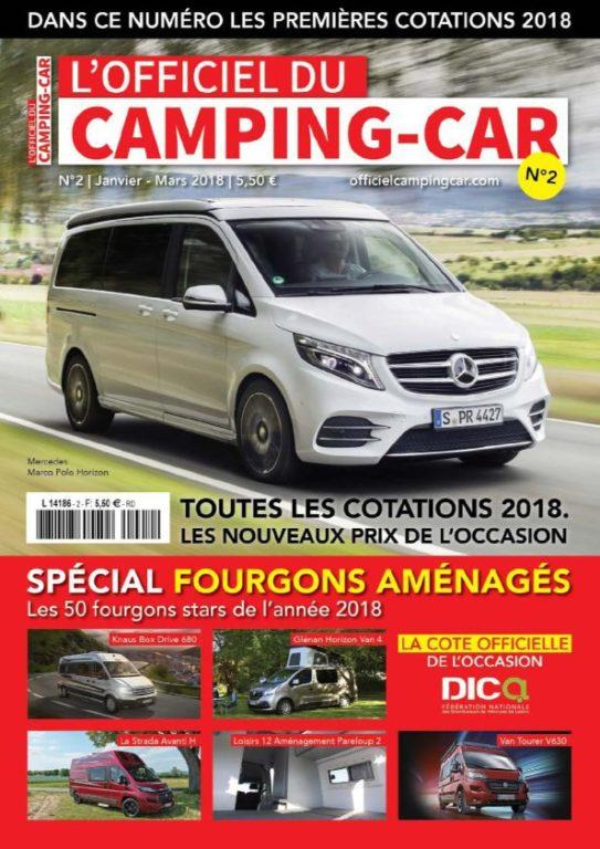 L'Officiel Du Camping-car – Fevrier 2018