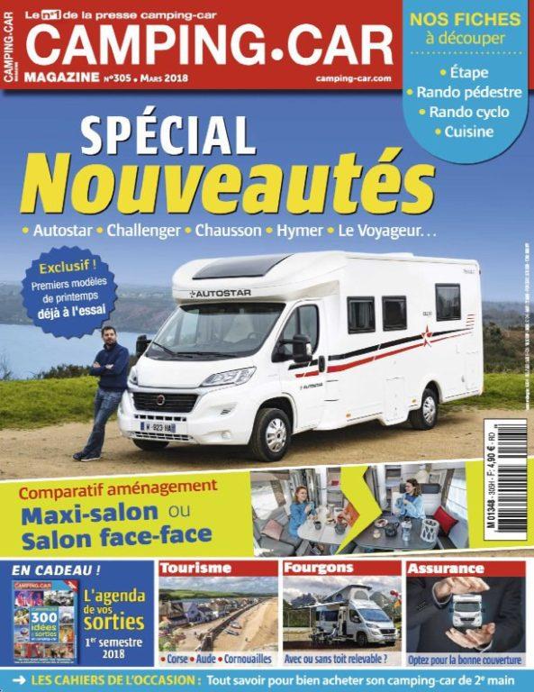 Camping-Car Magazine – Fevrier 2018