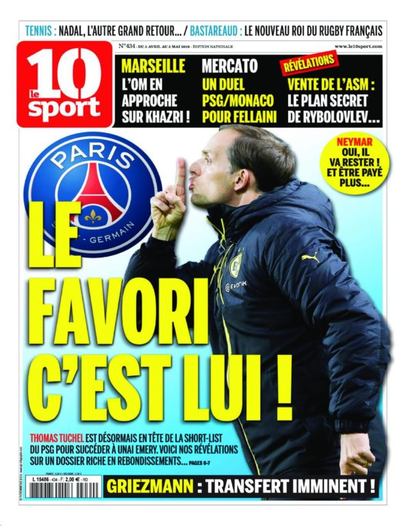 Le 10 Sport National – 05 Avril 2018