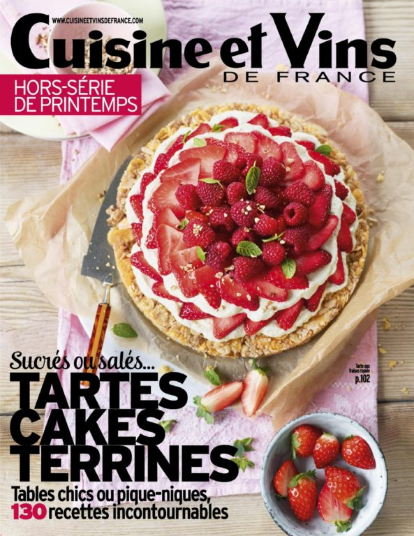 Cuisine Et Vins De France Hors-Série – Avril 2018