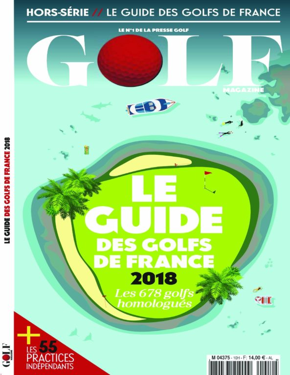 Golf Magazine (Guide Des Golfs) – Avril 2018