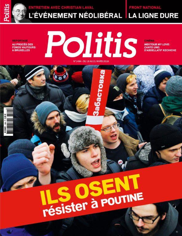Politis – 15 Mars 2018