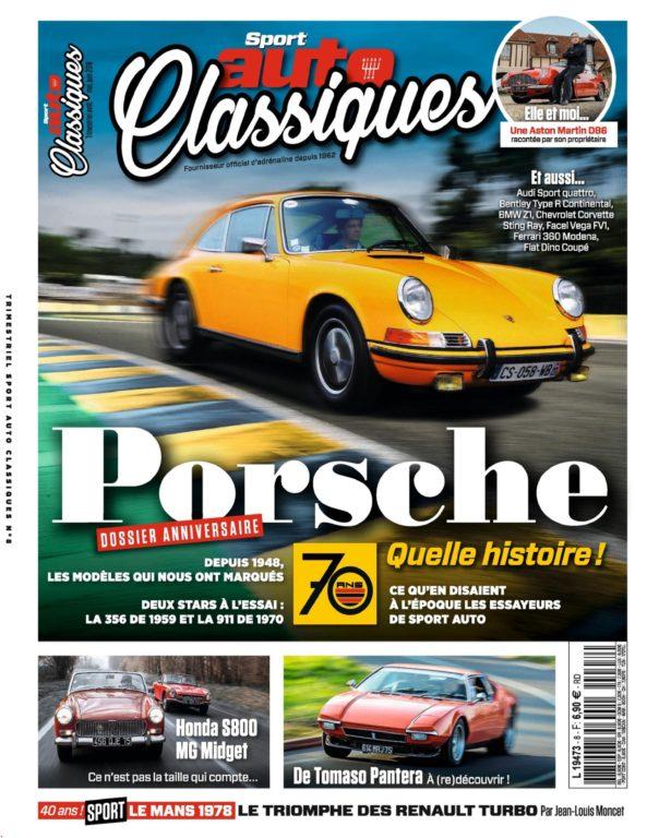 Sport Auto Classiques – Avril 2018
