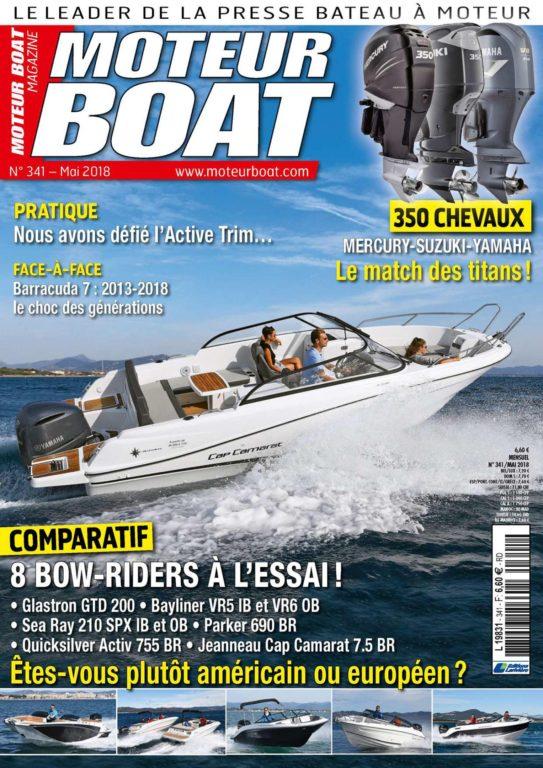 Moteur Boat – Mai 2018