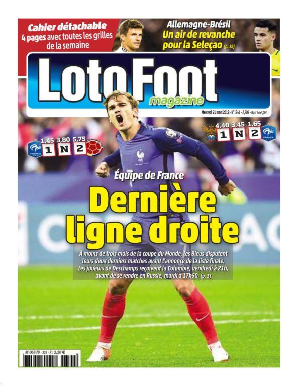 Loto Foot – 21 Mars 2018