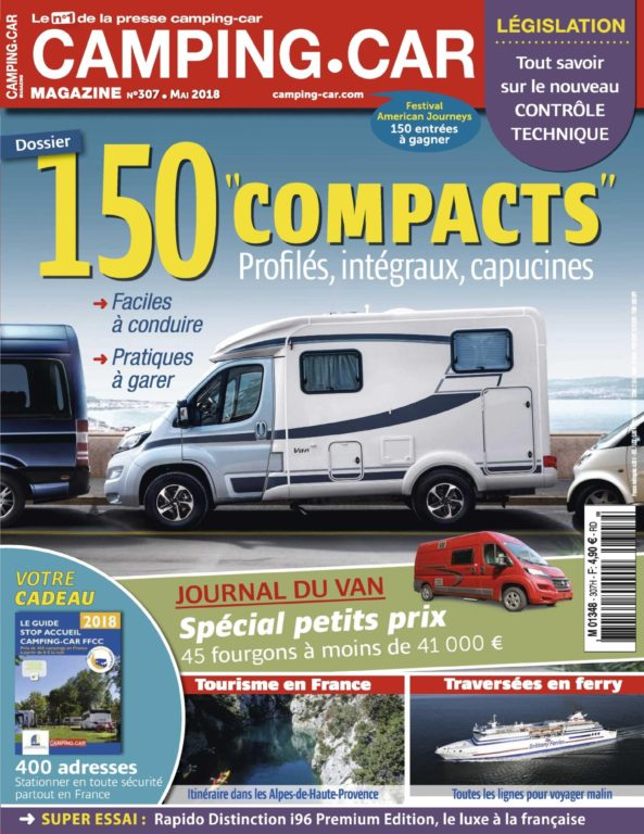 Camping-Car Magazine – Avril 2018
