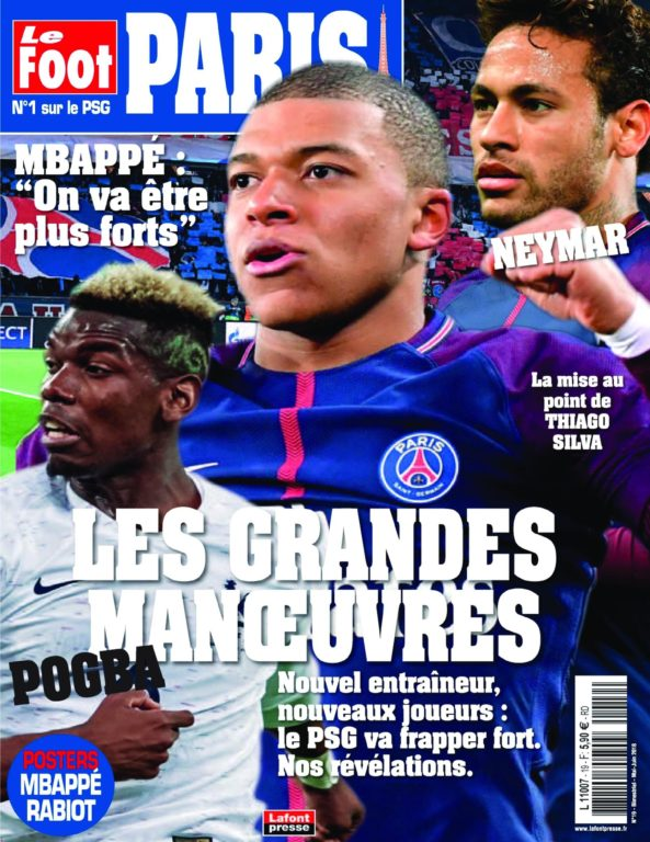 Le Foot Paris Magazine – 13 Avril 2018