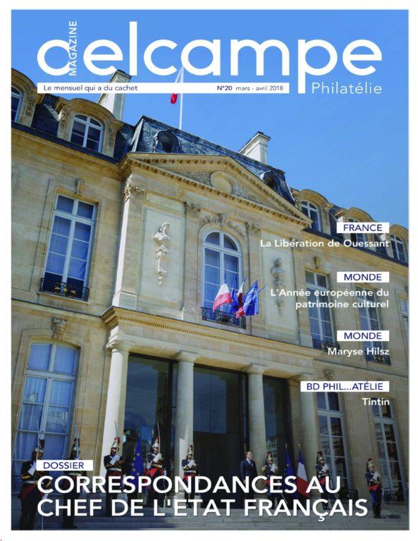 Delcampe Magazine Philatélie – 17 Mars 2018