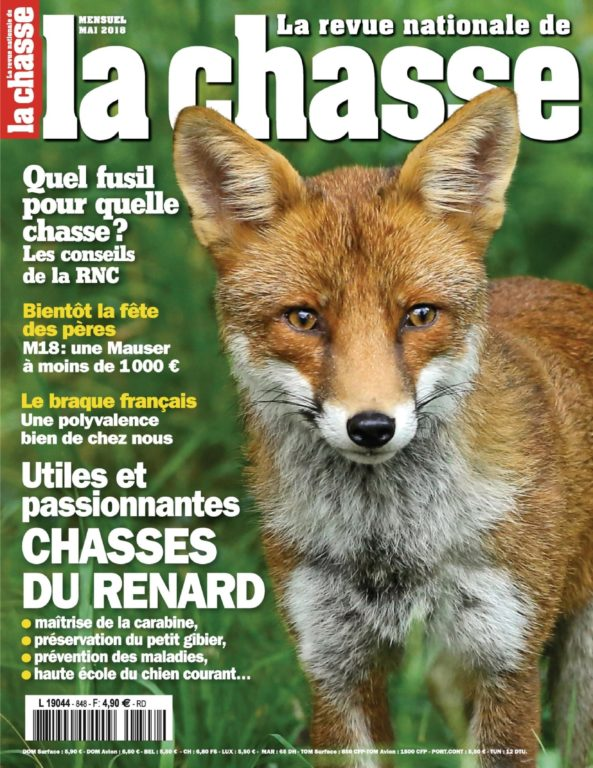 La Revue Nationale De La Chasse – 17 Avril 2018