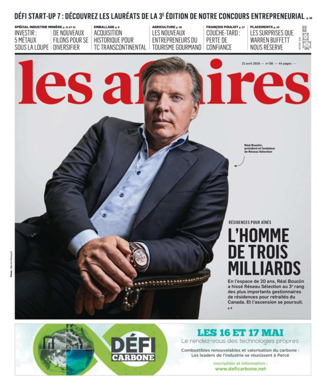 Les Affaires – 21 Avril 2018