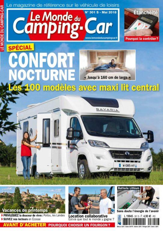 Le Monde Du Camping-Car – Mai 2018