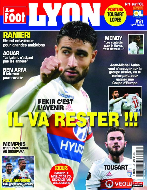 Le Foot Lyon Magazine – 18 Avril 2018