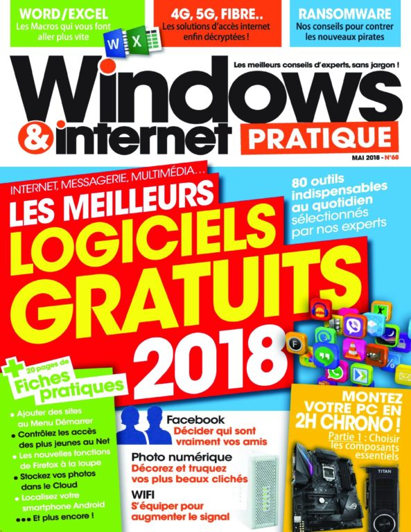 Windows & Internet Pratique – Mai 2018