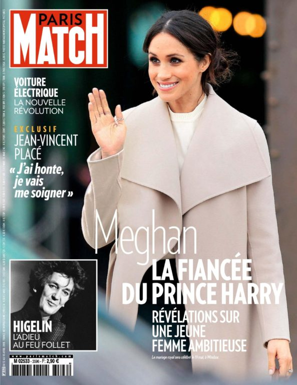 Paris Match – 12 Avril 2018