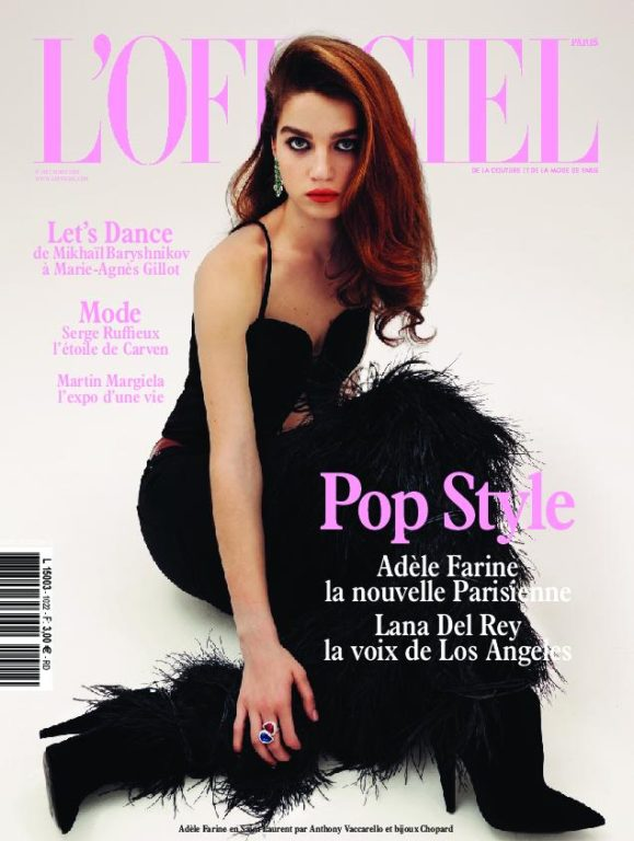 L'Officiel Mode Paris – Mars 2018
