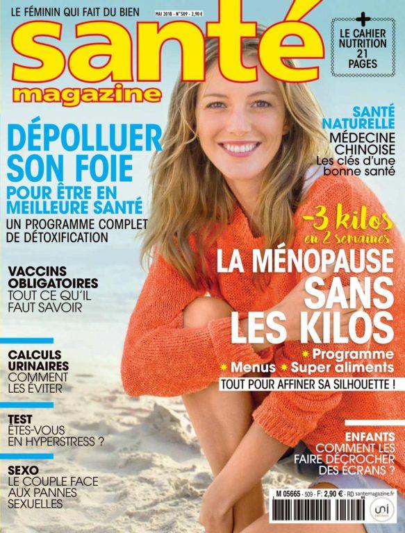Santé Magazine – Mai 2018