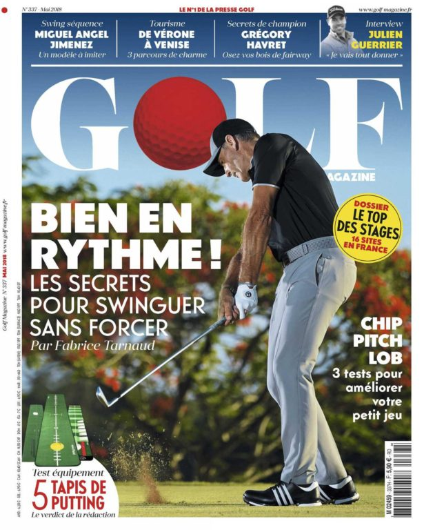 Golf Magazine France – Mai 2018