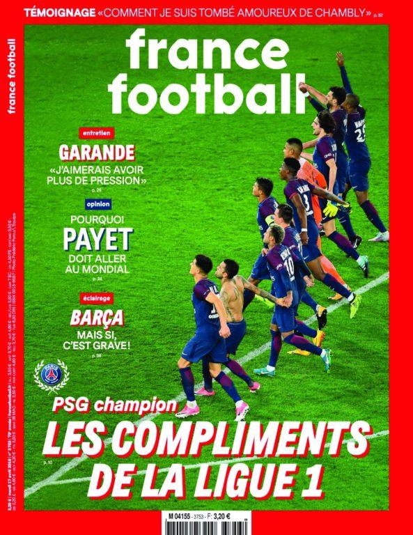 France Football – 17 Avril 2018