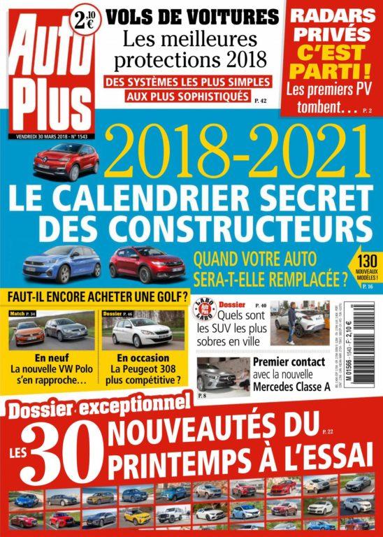 Auto Plus France – 30 Mars 2018
