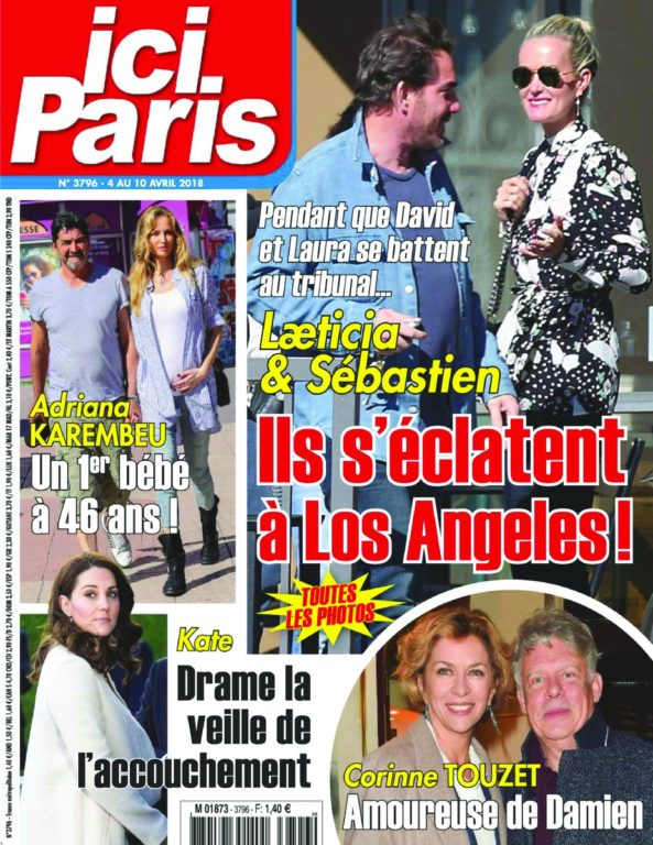 Ici Paris – 04 Avril 2018
