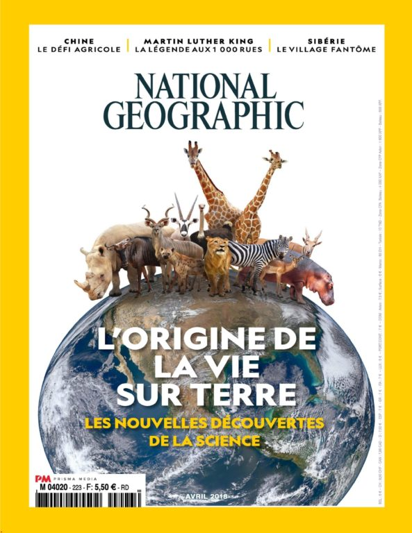 National Geographic France – Mai 2018