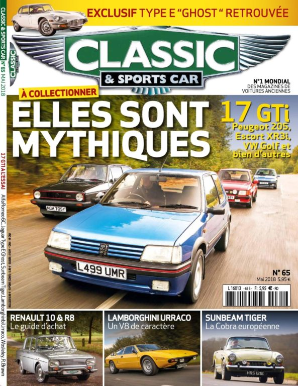 Classic & Sports Car France – Avril 2018