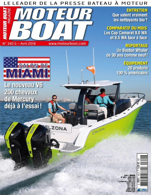Moteur Boat – 16 Mars 2018