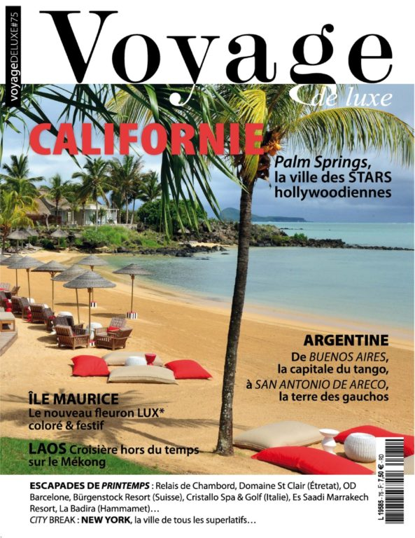 Voyage De Luxe – 13 Avril 2018