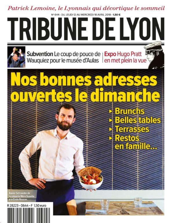 Tribune De Lyon – 12 Avril 2018