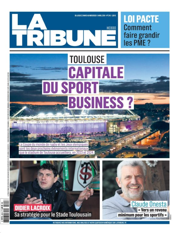 La Tribune Toulouse – 22 Mars 2018