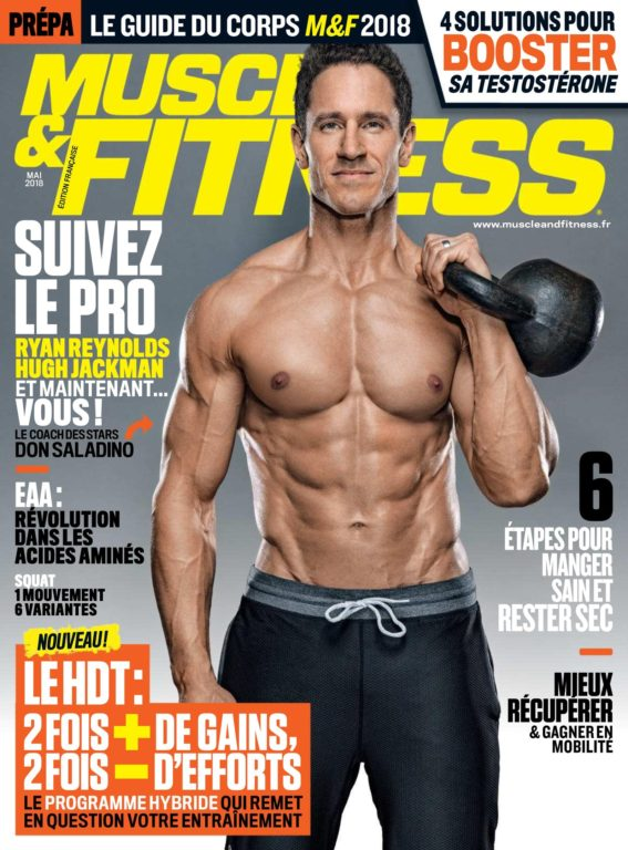 Muscle & Fitness France – Mai 2018