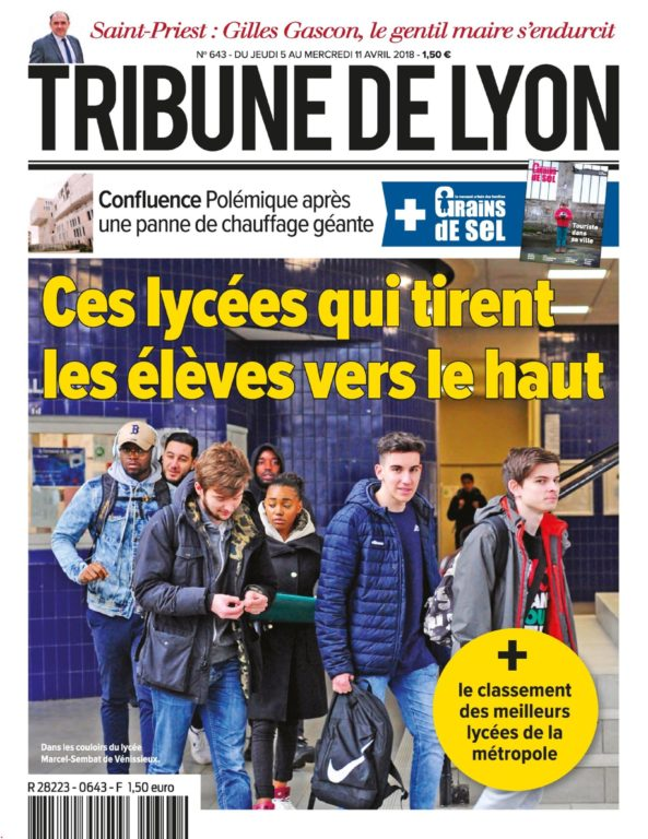 Tribune De Lyon – 05 Avril 2018