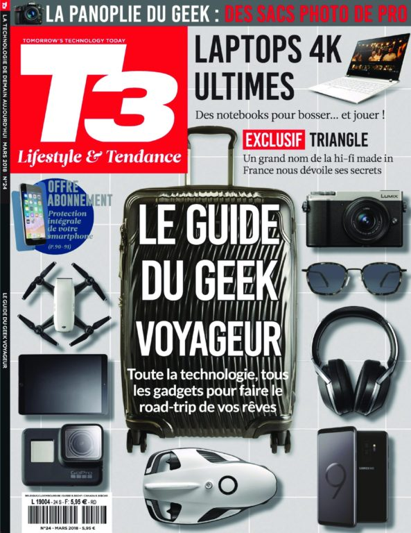 T3 Gadget Magazine – 15 Mars 2018