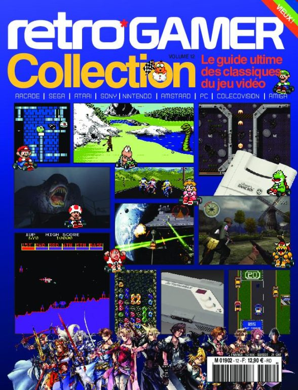 Retro Gamer Collection – Janvier 2018