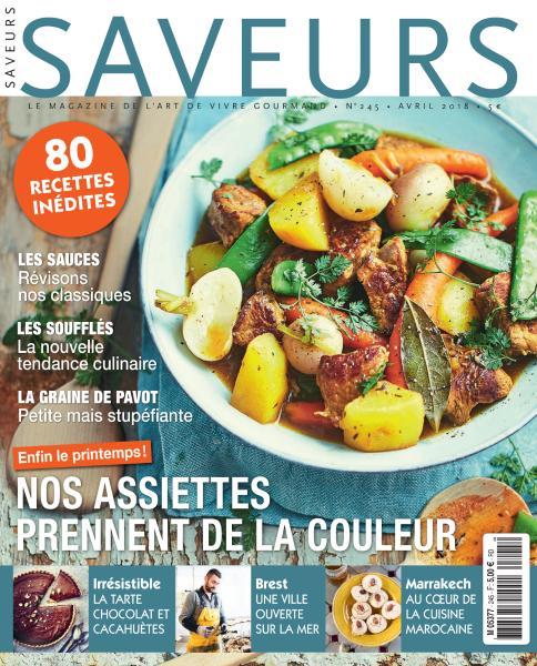 Saveurs France – Avril 2018