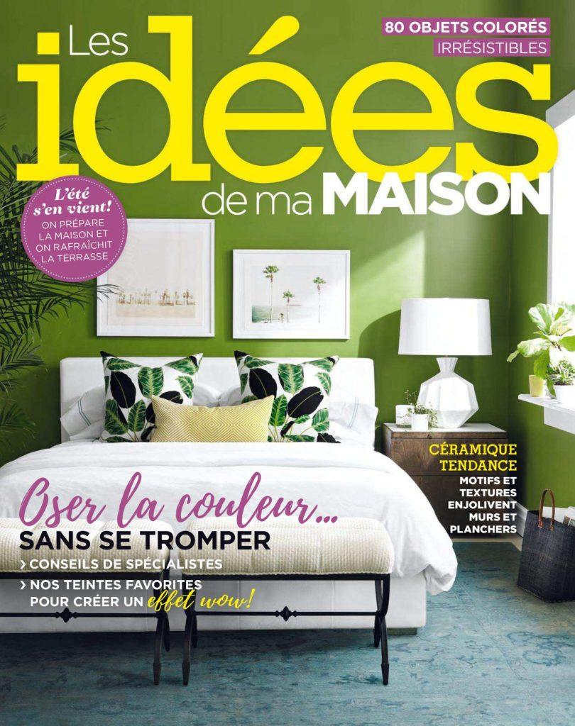 Les id es de ma maison mai 2018 t l charger pdf magazine for Idees de ma maison magazine