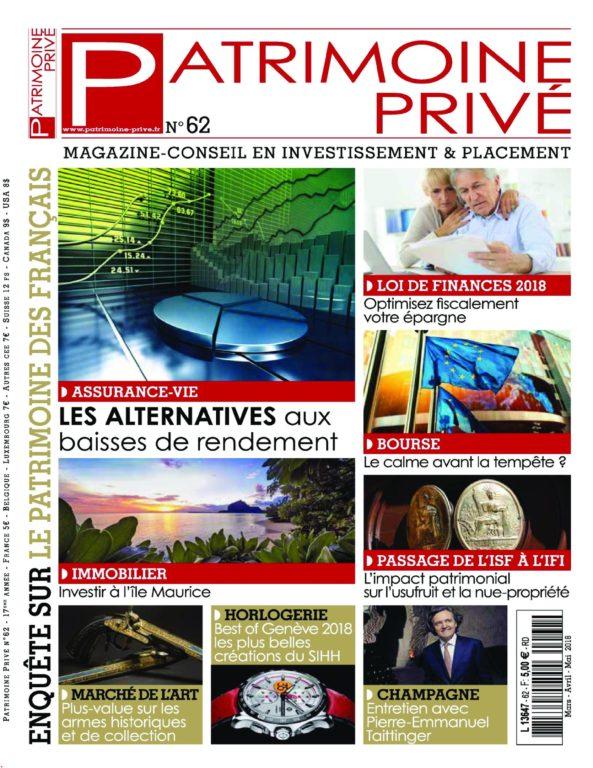 Patrimoine Privé – Mars 2018